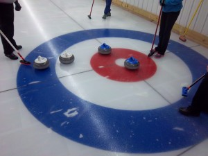 "The ""house"" at Stevens Point Curling Club"