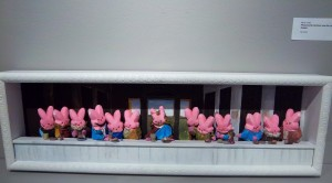The Last Supper made with Peeps