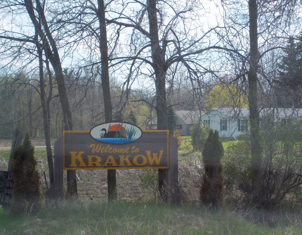 Welcome to Krakow, WI