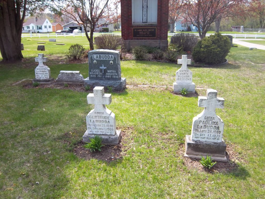 Some headstones