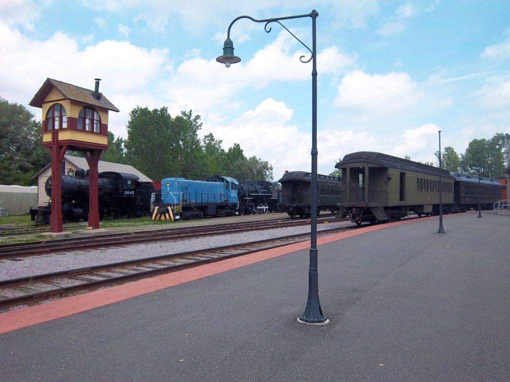 Lots of history at the Mid-Continent Railway Museum