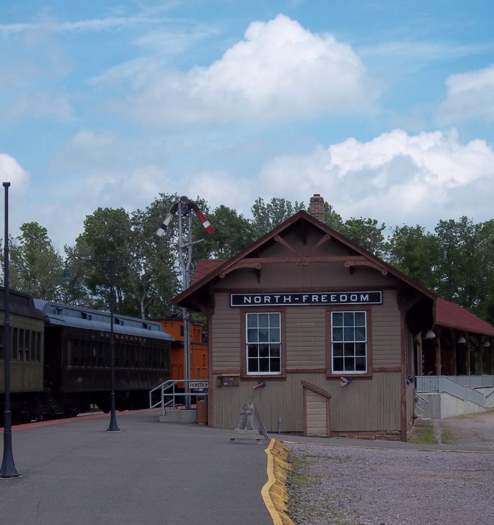 North Freedom Depot at Mid-Continent Railway Museum